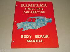 Werkstatthandbuch Karosserie Reparaturanleitung Body Repair Manual AMC Rambler