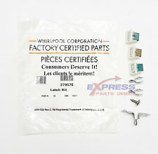 279570 Genuine Oem Dryer Door Catch Kit Ps334230, Ap3094183, 5366021400 We1X1192