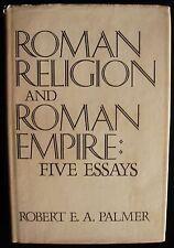Republic ROMAN RELIGION AND ROMAN EMPIRE ESSAYS Robert Palmer Scarce Dust Jacket