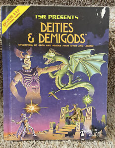 Advanced Dungeons & Dragons: Deities & Demigods, 1980 TSR #2013