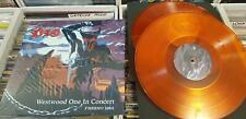sealed Ronnie James Dio Live in Fresno CA 1983, Westwood orange 2LP