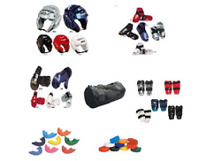Sparring Gear Set Kids Karate  MMA Tkd Protective Foam Gear Youth Adult Pads new