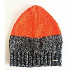 Diesel Unisex Sweat Cap Wald Berretto Hat OOSTQD OPAMP 900 UNI Orange Charcoal