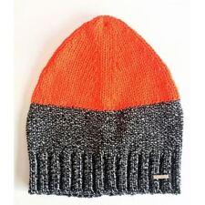 Diesel Unisex Sweat Cap Wald Berretto Hat OOSTQD OPAMP 900 UNI Orange Charcoal