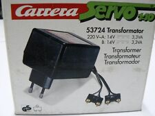 Carrera Servo 160 140  132 Trafo 53724 NEU