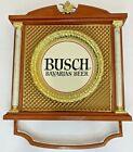Vintage Busch Bavarian Beer Sign Unique