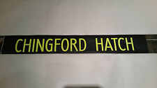 """London Bus Blind (North East) 42"""" Retro Gift. - CHINGFORD HATCH"""