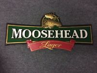 Moosehead Lager Sign from Canada