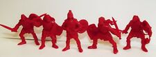 Plastic toy soldiers. Tehnolog. The Scythians. Red color 1/32