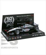 50th Anniv. Minichamps 1/43 Mika Hakkinen 1999 Champion McLaren Mercedes MP4/14