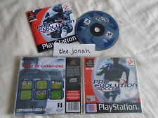 Pro Evolution Soccer PS1 (COMPLETE) football Sony PlayStation ISS rare Konami