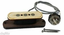 """""""Electric Delta"""" 3-pole Single Coil Cigar Box Guitar Pickup by Foundry-Tone"""
