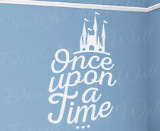 Once Upon A Time Inspirational Story King Arthur Fairy Wall Decal Vinyl Art T37