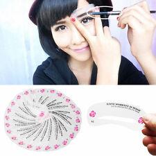 24Pcs Set Eyebrow Stencil Eye Brow Kit Liner Shaper Make Up Template Shaping DIY