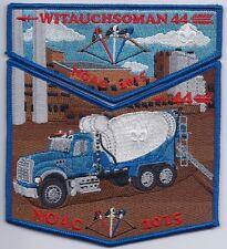 Witauchsoman Lodge 44 OA flap S67/X22 NOAC 2015 Mack Trucks Cement Delegate