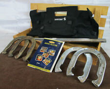 Sportcraft Heritage Horseshoe Set with Stakes & Carrying Case - Complete