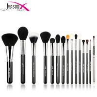 Jessup  Makeup Brushes Set 15/12 Powder Blush Concealer Blending Cosmetic Tool