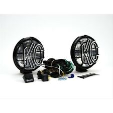 "KC Hilites 9150 6"" Apollo Pro Pair Pack System Black (Spot Beam)"