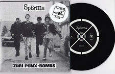 "Sperma - Züri Punx 7"" Bellevue Jack & The Rippers Glueams Sozz KDF Swiss CH Punk"