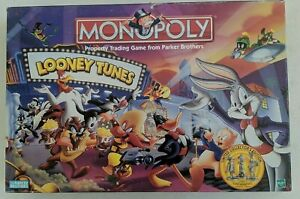 Monopoly Looney Tunes Official Classic Cartoon Edition 41231 (1999) complete