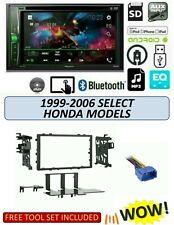Fits 1999-2006 HONDA Select Models Stereo Kit, PIONEER AVH-210EX BLUETOOTH DVD