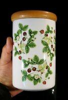 Beautiful Portmeirion Summer Strawberries Storage Jar