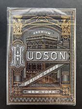 Black Hudson Theory 11 Premium Playing Cards Deck Magic Tricks Gold Sealed New