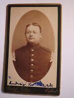 Erfurt - Soldat  Ludwig Koselack ? in Uniform - Regiment IR 71 Musiker / CDV