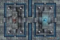 DONJEONS ET DRAGONS TAPIS DE JEU / GAME MAT SANCTUARY OF FATE