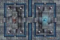 DONJEONS ET DRAGONS TAPIS DE JEU / GAME MAT SANCTUARY OF FATE
