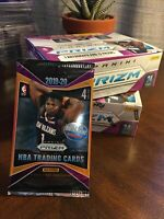 2019-20 Panini Prizm Basketball Retail Pack (1 pack, not entire box) Zion/Morant