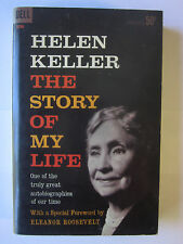 Helen Keller: The Story of my Life (1961, Dell Paperback), very good