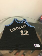Cleveland Cavaliers Cavs Brevin Knight Black Champion Jersey Size 52