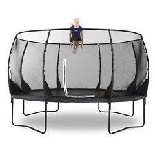 NEW Plum 14ft Premium Magnitude Circular Trampoline Enclosure Net Safety Pad Toy