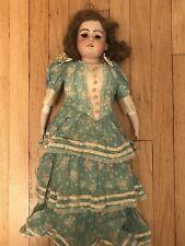 "Antique Armand Marseille German Bisque 24"" Doll Miss Millionaire AM 5 DEP 370"