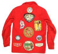 VTG 1960s-70s Boy Scout Jacket w/ 16 Patches Queens NY BSA Unami Alpine Camporee