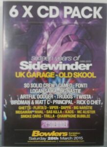16 Years Of Sidewinder 6xCD Pack UK GARAGE BASSLINE GRIME SO SOLID CAMEO