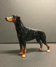 "Vintage Beswick England Doberman Pinscher Dog Figurine 6"" Tall"