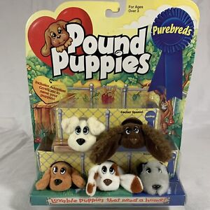 Vintage 1996 Galoob Pound Puppies Purebreds