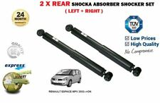 FOR RENAULT ESPACE MPV 2002 > NEW 2X REAR LEFT RIGHT SHOCK ABSORBER SHOCKER SET