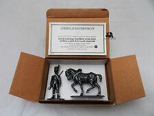 Figurine Collection MHSP Atlas Cheval d'attelage Artilleur à pied Garde Impérial
