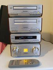 Technics HD560 Mini HiFi Stack - CD, Cassette, Tuner, Amplifier - Fully Working