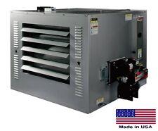 New listing Waste Oil Heater Commercial - 300,000 Btu - 10,000 Sq Ft - 4,600 Cfm - 2.14 Gph