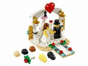 LEGO 40197 Wedding Favor Bride Groom Cake Topper 6 Hair styles New FREE SHIPPING