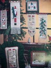 Frosty NIghts ChristmasSanta Tree snowman Mill Hill cross stitch pattern