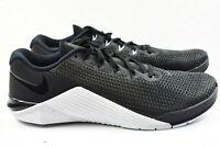 Nike Metcon 5 (Mens Size 8.5) Training Shoes AO2982 010 Black White wmn sz 10