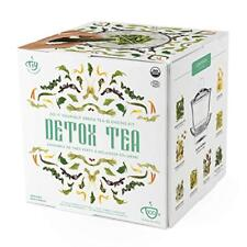 Detox Amincissant Thé Vert Bio Mélange Complet Kit loose séchée pour infusion th...