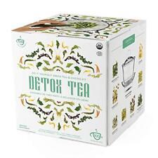 DETOX SLIMMING GREEN TEA Organic Blending Full Kit Loose Dried Infusion Teas UK