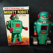 Tinplate Mighty Robot Noguchi Made In Japan