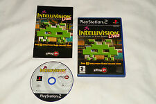 PS2 GAME INTELLIVISION LIVES with Booklet (2004) (UK Pal Region 2).